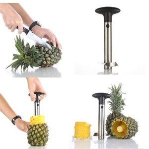 Pineapple Corer Cutter Peeler Stainless Steel