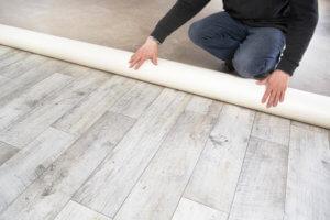 Als Bodenbelag eignet sich der PVC-Boden in vielen verschiedenen Räumen