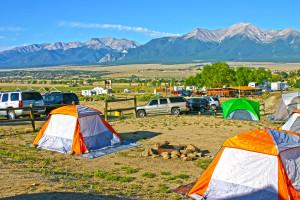 Camping Buena Vista & Salida, Colorado