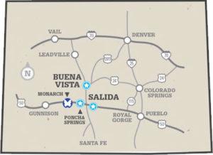 Free Buena Vista & Salida Colorado Vacation Guide
