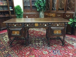 antique kittinger desk