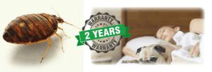 bed bug 2 year warranty