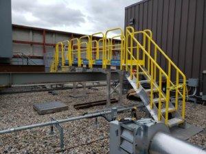 ErectaStep CrossOver Stair Installation