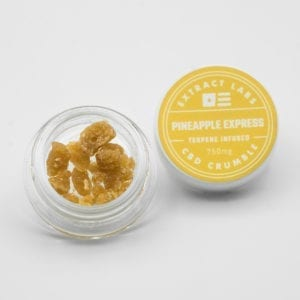 Extract Labs - Pineapple Express CBD Crumble