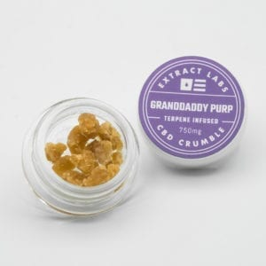 Extract Labs - Granddaddy CBD Crumble