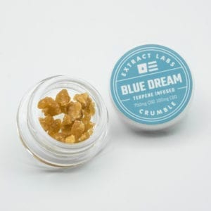 Extract Labs - Blue Dream CBD Crumble