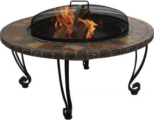 Endless Summer WAD820SP Slate and Marble Fire Pit