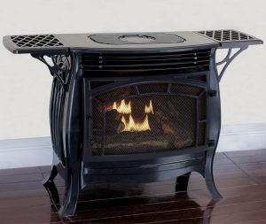 8- Duluth Forge FDSR25-GF Dual Fuel Ventless Gas Stove