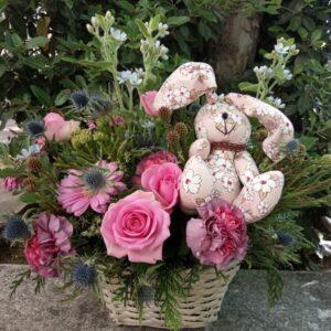 Flores_con_osito