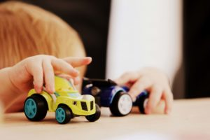 fun educational activities in unlikely places like toy cars