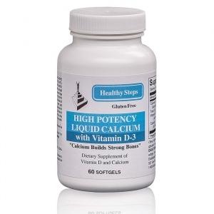 High Potency Liquid Calcium Front