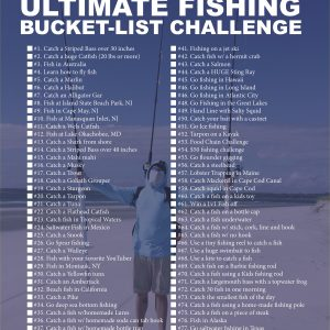 Hey Skipper Fishing Tutorials Ultimate Fishing Bucket-List Challenge v1