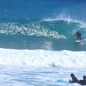 Surf lessons on encuentro beach, Sosua - Cabarete, Dominican Republic