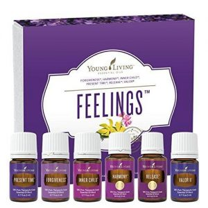 young living oils and box
