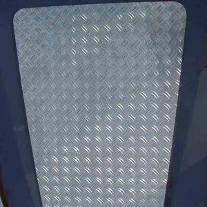 Motorhaubenblech für Defender 90/110/130 alu natur eloxiert