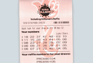 lotto ticket scan