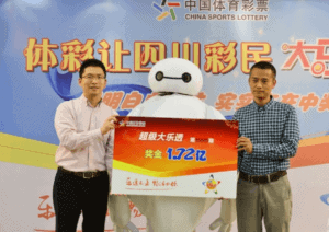 Baymax chinese lottery winner