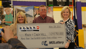 Powerball Lottery Winners Cindy and Mark Hill