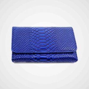 portofel dama albastru