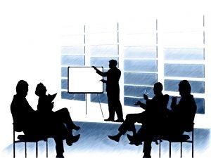 Moderator im Strategieworkshop