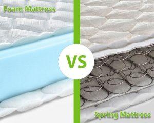Memory Foam vs Spring Mattress GhostBed