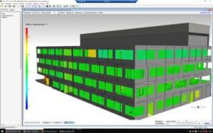 Thermische Simulation Neubau CPA der TUM Garching