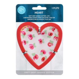 heart soft grip cookie cutter