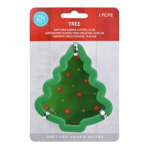 christmas tree soft grip cookie cutter