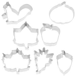 AUTUMN LEAF 7 PC SET cookie cutter set
