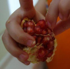 Granatapfelpuhlen