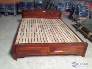 Giường gỗ keo đẹp giá rẻ 1m6 x 2m đã qua xử lý tẩm sấy chống cong vênh mối mọt bán tại kho hàng hà nội của nội thất AMI với chất lượng cao, giá tốt nhất thị trường không ở đâu bằngHỗ trợ giá vận chuyển đường dài và ngoại tỉnh.Bảo Hành: 6 thángGiá chưa bao gồm VAT, vui lòng + 10% nếu có nhu cầu