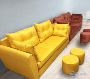 Bộ Sofa văng nỉ đệm rời tại Nội Thất Ami: Sofa văng được dựng trên khung gỗ tự nhiên đã qua tẩm sấy, chống mối mọt, giúp bộ sofa chắc chắn, nhiều người có thể ngồi cùng một lúc