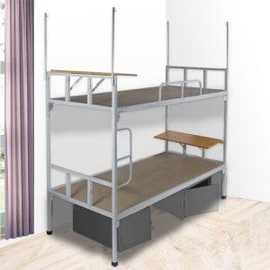Giường tầng sắt có bàn học giá rẻvới đa dạng kích thước tại nội thất Ami sẽ làm cho không gian phòng ngủ của bạn sang trọng và tiện nghi hơn.