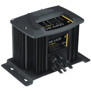 MOX034826 - Minn Kota MK-440D Digital Linear Charger 4 Bank 10 Amp