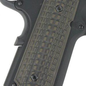 ZAP61114 300x300 - Pachmayr Dominator G10 Grips - Cz75 Compact Grn-blk Grappler