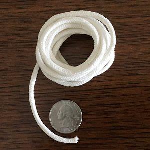 Round Braided Cotton Wick