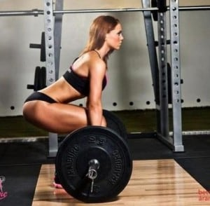 Deadlift Girl Good Form