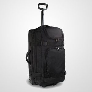 Rolling-Duffel-Travel-trolley-Luggage-bag-With