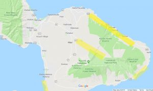 map of Maui cell phone coverage