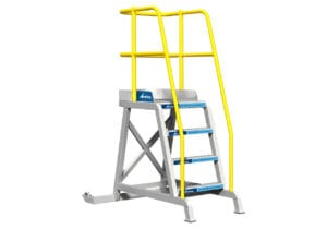 Ground Support Rolling Platform TR-Series Right View