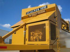 Scalper 107D Compartimiento del Motor