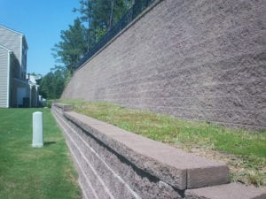 Community Project to Build a New Retaining Wall