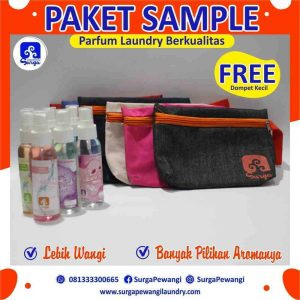Paket Sample Parfum Laundry Aneka Aroma