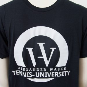 Logo-Shirt in Dunkelblau - Vorderseite | Tennis-University