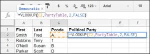 VLOOKUP Function