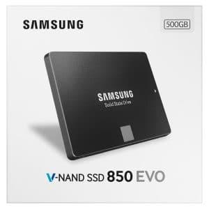 Samsung SSD 850 box