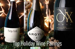 Top Holiday Wine Pairings on UrbanBlissLife.com