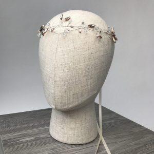 Headpiece 'Silver Glam' - Kopfschmuck