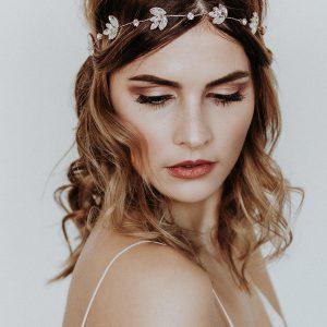 Headpiece Lucy - Kopfschmuck - Roségold