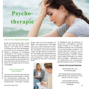 Naturtherapie bei Stress
